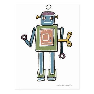 Postal Robot del mecanismo