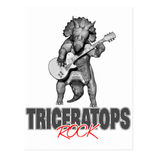 Postal Rocas del Triceratops