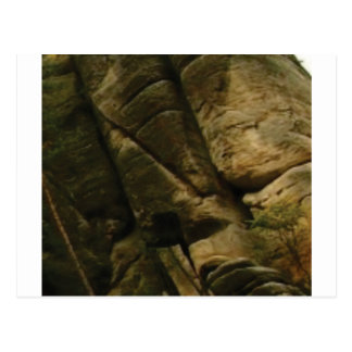 Postal rocas grises del estruendo