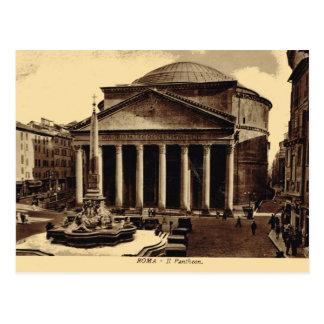 Postal Roma, panteón