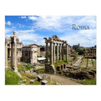 Postal romana del foro
