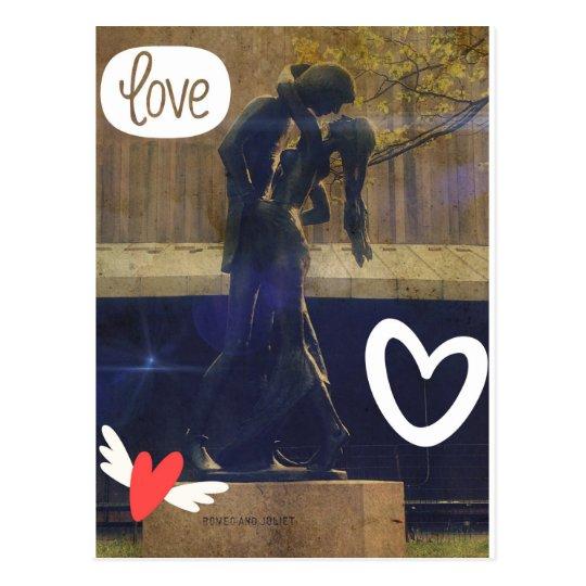 Postal Romeo y Juliet
