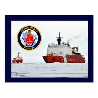 Postal Rompehielos HEALY, mar de Beaufort, Alaska de USCG