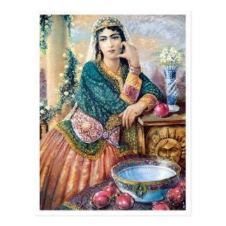 Postal Ropa iraní tradicional
