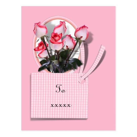 Postal Rosas Para Alguien Especial El El Día De Madre