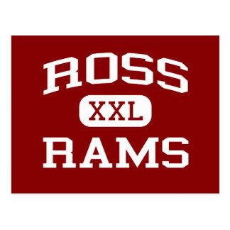 Postal Ross - espolones - High School secundaria de Ross