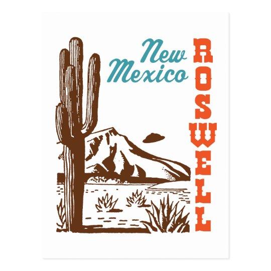 Postal Roswell New México