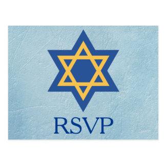 Postal RSVP judío