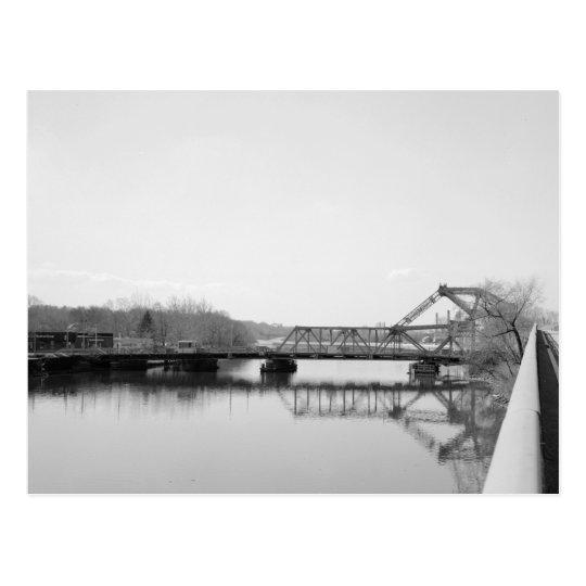 Postal Rte. 7 puente, río de Passaic, Belleville, NJ