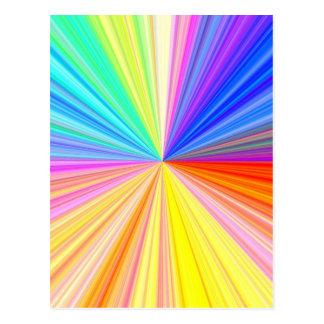 Postal Rueda de color ART101