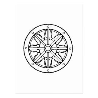 Postal Rueda de Dharma