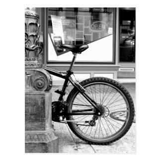 Postal Rueda de la bici