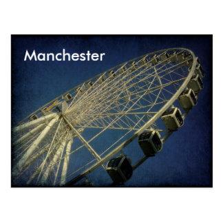 Postal Rueda de Manchester