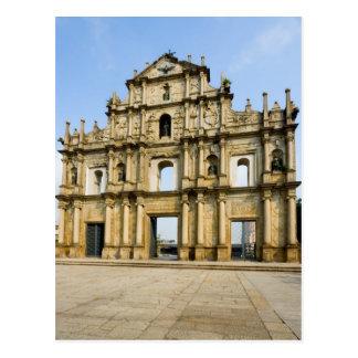 Postal Ruinas de la catedral de San Pablo