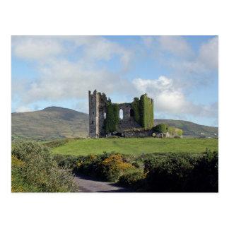 Postal Ruinas del castillo de Ballycarbery
