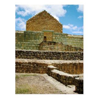 Postal Ruinas del inca de Ingapirca, Ecuador