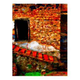 Postal Ruinas en Pompeya Italia