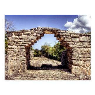 Postal Ruinas mayas
