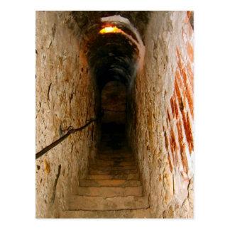 Postal Rumania, el castillo de Drácula, salvado,
