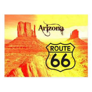 Postal Ruta 66 de Arizona