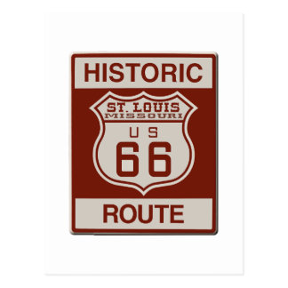 Postal Ruta 66 de St. Louis