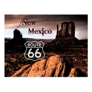 Postal Ruta 66 New México