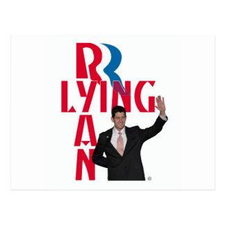 Postal Ryan de mentira