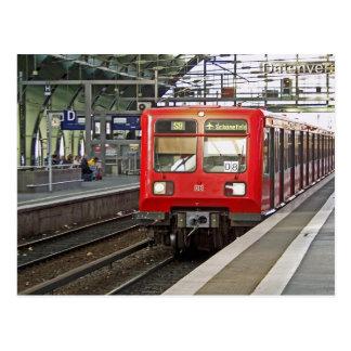 Postal S - bahn Berlín, Alemania. Metro