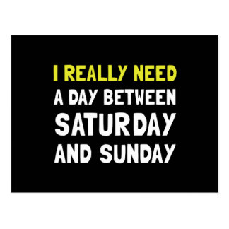 Postal Sábado domingo