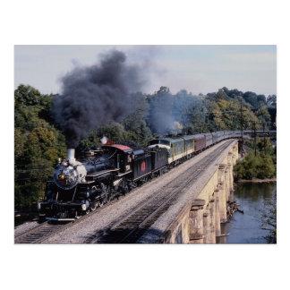 Postal Sabana y ferrocarril de Atlanta, no. 750,