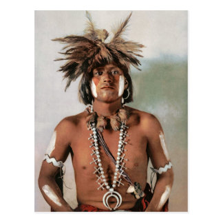 Postal Sacerdote 1902 de la serpiente de Taqui AMoki -