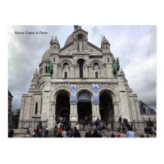 Postal Sacre Coeur en París