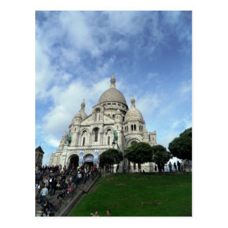 Postal Sacre Coeur Montmartre París