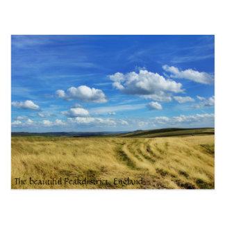 """Postal """"Safari"""" - Peakdistrict, Inglaterra de la nube"""