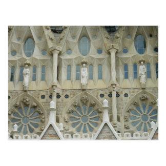 Postal Sagrada Familia, Barcelona