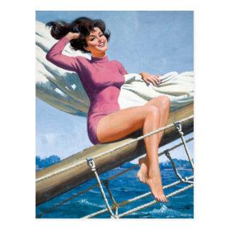 Postal Sailing PinUp