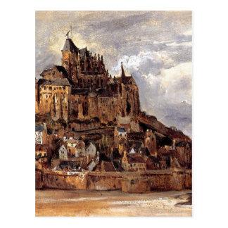Postal Saint-Michel de Mont de Theodore Rousseau