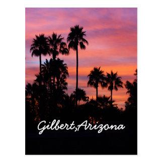 Postal Salida del sol en Gilbert, AZ