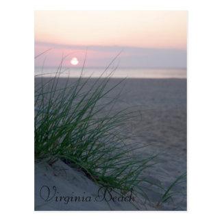 Postal Salida del sol en la playa