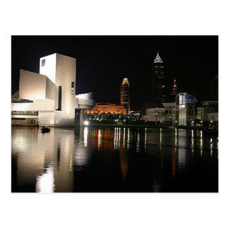 Postal Salón de la fama Cleveland Ohio del rock-and-roll