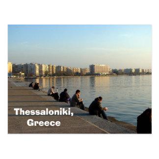 Postal Salónica, Grecia