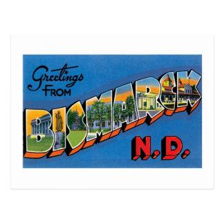 Postal ¡Saludos de Bismarck, Dakota del Norte!