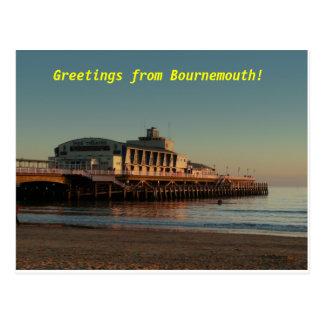 Postal ¡Saludos de Bournemouth!