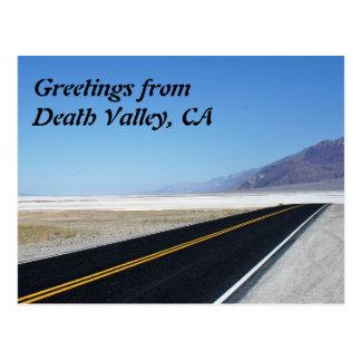 Postal Saludos de Death Valley, CA