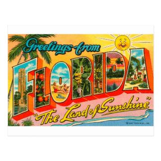 Postal Saludos de la Florida