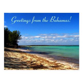 Postal ¡Saludos de las Bahamas!