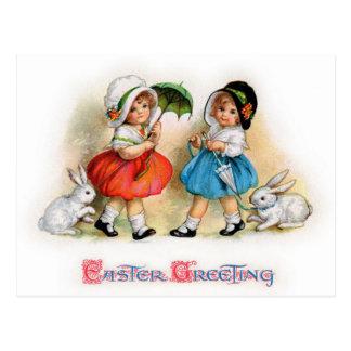 Postal Saludos de Pascua