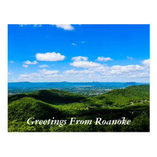 Postal Saludos de Roanoke