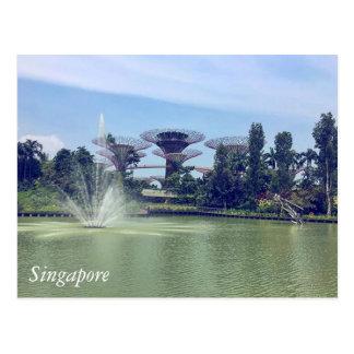 Postal Saludos de Singapur