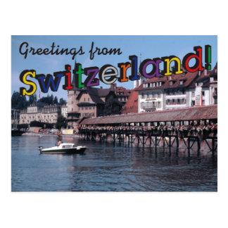 Postal ¡Saludos de Suiza!